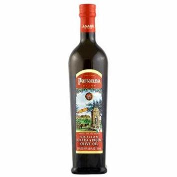 Partanna Sicilian Extra Virgin Olive Oil 25 oz Glass Bottle