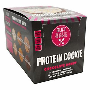 Buff Bake Chocolate Donut - 12 pack 80g Cookie