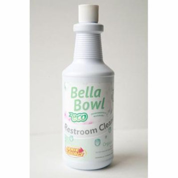 BellaBowl ECO Organic Acid Toilet Bowl & Restroom Cleaner, 1 Quart