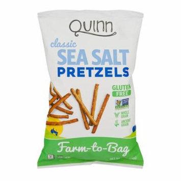 Quinn Classic Sea Salt Whole Grain Pretzels, 7.0 OZ
