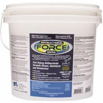 CARE WIPES / GYM WIPE ANTIBACTERIAL FORCE BUCKET, 900 SHEETS