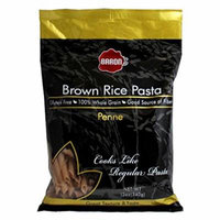 Baron's Kosher 100% Whole Grain Brown Rice Pasta Gluten Free Penne 12-ounce (...