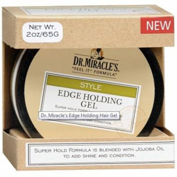2 Pack - Dr. Miracle's Style Edge Holding Gel, 2 oz