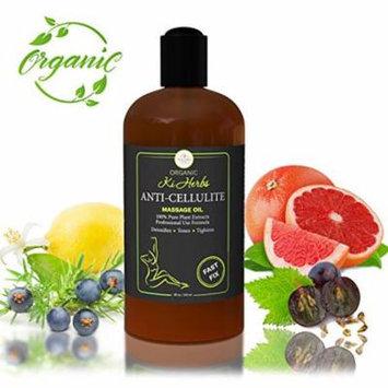 Anti Cellulite Massage Oil - Cellulite Remover. Organic anti cellulite body oil