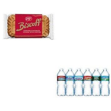 KITLTB456268NLE101243 - Value Kit - Five Star Cookies (LTB456268) and Nestle Bottled Spring Water (NLE101243)