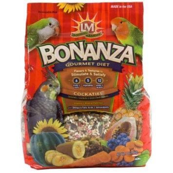 LM Animal Farms Bonanza Gourmet Diet Cockatiel Bird Food, 4 lb