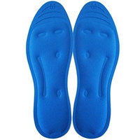 FootMatters Liquid Hydro Gel Comfort Therapy Orthotic Insoles - Dynamic Gel Provides Arch Support, Absorbs Heel & Ball of Foot Shock - Flat Foot Pain Relief - Men 8-9.5 Women 9-10.5