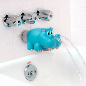 Baby Toys - Nuby - Hippo Spout Cover Blue 6235