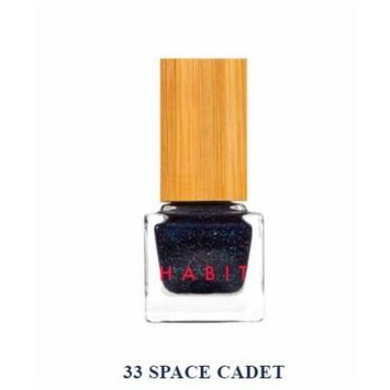 Habit Cosmetics Nail Polish Space Cadet Blue Shimmer Non Toxic