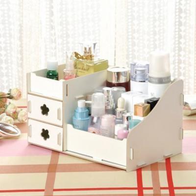 Multifunctional DIY Makeup Cosmetic Box Drawers Holder Organizer