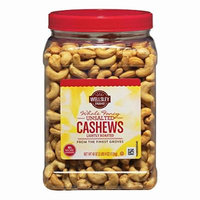 Wellsley Farms Unsalted Roasted Whole Cashews, 2.5 lbs. (pack of 2)