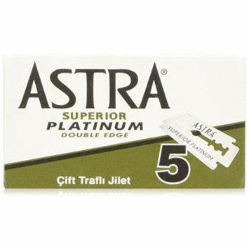 100 Astra Superior Premium Platinum Double Edge Safety Razor Blades