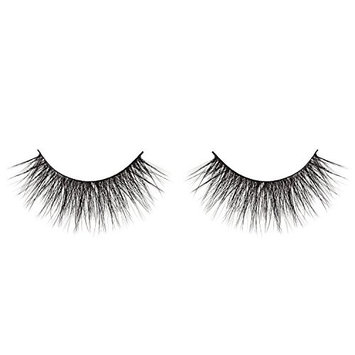 EYERÍS BEAUTY 3D Faux Silk Eyelash in style CLEOPATRA, Double-Stacked, Flexible, Cruelty-Free, Fur-Free, Vegan, Reusable up to 20 times
