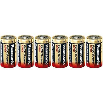 6 Panasonic Ultra CR2 3v Lithium Photo Batteries DL-CR2