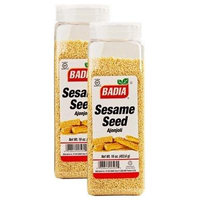 Badia Sesame Seed Hulled 16 oz Pack of 2