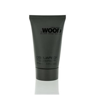 Dsquared2 SWWMBW34 3.4 oz Mens Silver Wind Wood Hair & Body Wash