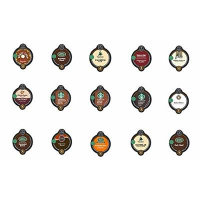 30 Count - Variety Coffee Vue-Cups for Keurig Vue Brewers - (No decaf, 15 flavors, 2 Vue cups each)