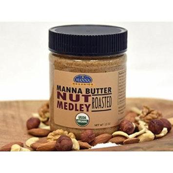 Manna Organics - Manna Nut Butter - Organic NUT Medley - 12 oz