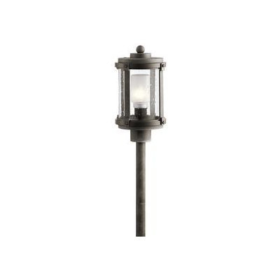 Kichler Lighting 2-Watt Olde Bronze Low Voltage Plug-in LED Path Light 28307