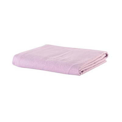 NRG Deluxe Massage Flannel Sheet Set ((Lavender)) Qty 1 for Massage and Spa Tables- 3 piece Sheet Set (Face Rest Crescent Cover 13