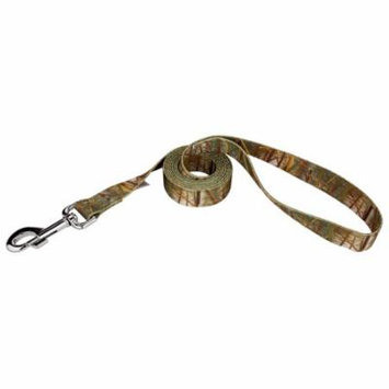 Country Brook Design® 1 Inch Waterfowl Camo Dog Leash - 6 Foot