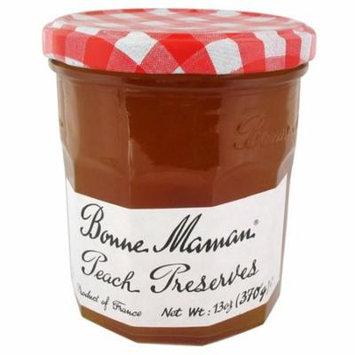 Bonne Maman Peach Preserves 13 oz Jars - Single Pack