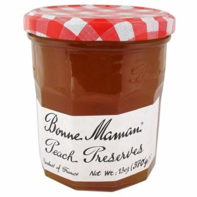 Bonne Maman Peach Preserves 13 oz Jars - Single Pack