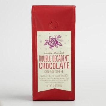World Market Double Decadent Chocolate Ground Coffee 12oz bag