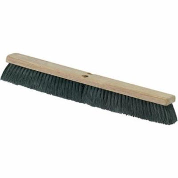 CFS 3621923603 36 in. Floor Push Sweep Harwood Broom, Medium - Black