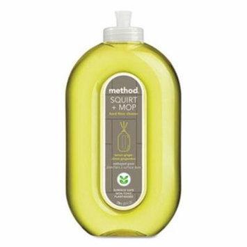 Method Hard Floor Cleaner, 25-oz, Lemon Ginger, 6 Squirt Bottles (MTH00563CT)