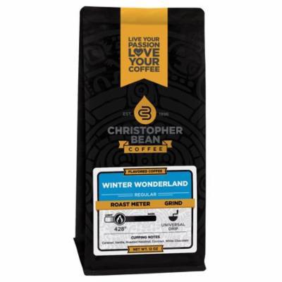Christopher Bean Winter Wonderland Coffee, 12 Ounce Bag Ground