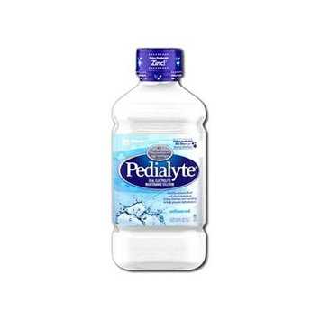 Pedialyte Unflavored, Retail 1 Liter Bottle Part No. 00336 Qty : 1 Bottle