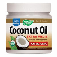 Nature's Way EfaGold Coconut Oil, Pure Extra Virgin 16 oz(pack of 1)