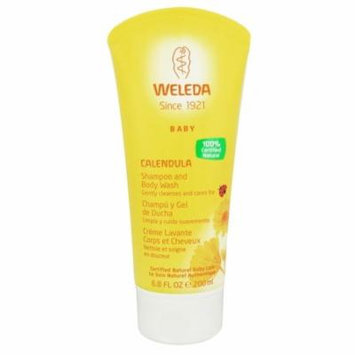 Weleda - Baby Calendula Shampoo and Body Wash - 6.8 oz.(pack of 3)
