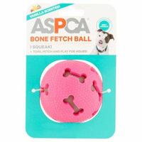 ASPCA Pink Vanilla Scented Bone Fetch Ball