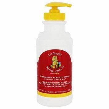 Canus - Li'l Goat's Tearless Shampoo & Body Wash with Fresh Goat's Milk - 16 oz.(pack of 3)