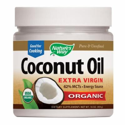 Nature's Way EfaGold Coconut Oil, Pure Extra Virgin 16 oz(pack of 2)