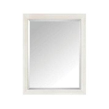 Avanity Thompson 24 in. W x 30 in. H Single Framed Mirror in French White