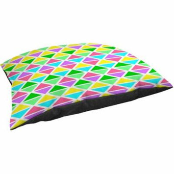 Thumbprintz Neon Party Geo Pattern Fleece Pet Bed
