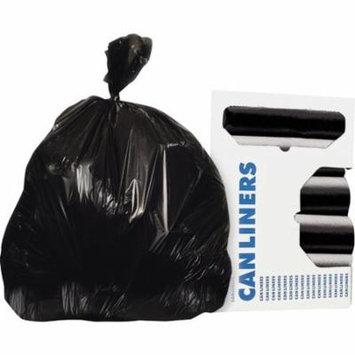 Hirsh Industries AccuFit Round 55-Gal. Trash Bags, 50 Count