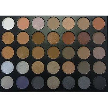 The Beauty Box Artist Eyeshadow Palette- 35 COLORS (The Ultimate Smoky Eye Collection)