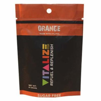 Vitalize Mints Orange 1 oz Pouches - Pack of 6