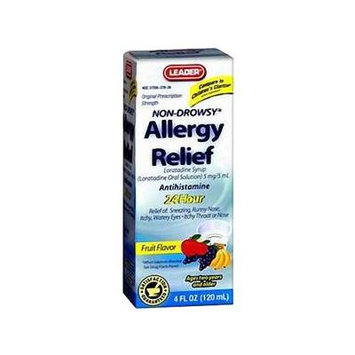 Leader Children's Allergy Relief Fruit Flavor Syrup BO/1