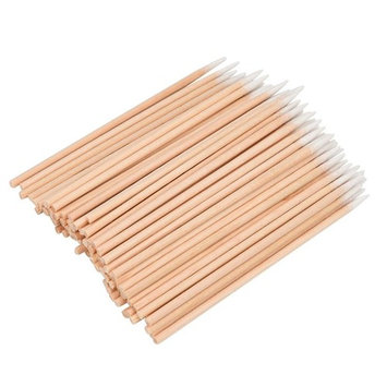 Creazy 100Pc Microblading Micro Brushes Swab Lint Free Tattoo Permanent Supplies