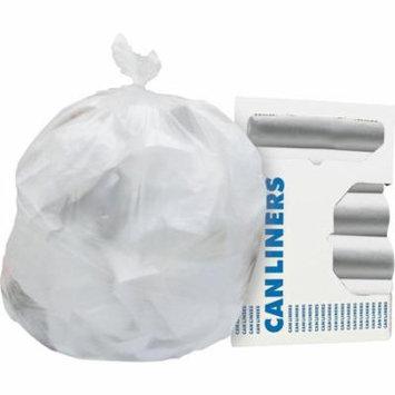 Hirsh Industries Standard High Density Coreless Roll 30-Gal. Trash Bags, 25 Count