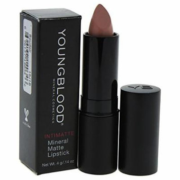 Youngblood Intimatte Mineral Matte Lipstick, Boudoir, 0.14 Ounce