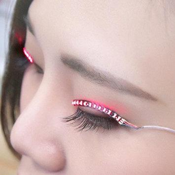 Creazy LED Eyelashes Eyelid False Eyelashes For Fashion Icon Saloon Pub Club Bar Party