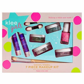 Luna Star Naturals Klee Girls 7-Piece Kit with Far and Wide Bonus Bamboo Brush