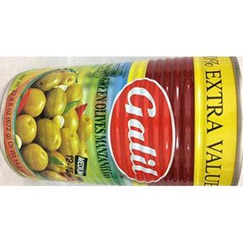 Galil Green Olives Manzanillo 22.8 Oz. Pk Of 3.