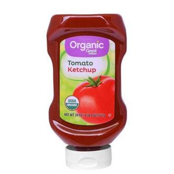 Great Value 20oz. Organic Ketchup USDB